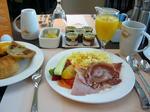 ヒルトン・ヒースロー・朝食
