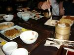 ヒルトン東京ベイ 夕食テーブル