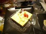 ヒルトン東京ベイ 昼食 デザート チーズケーキ